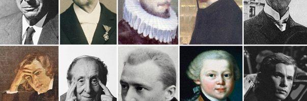 Les plus célèbres compositeurs de musiques classiques
