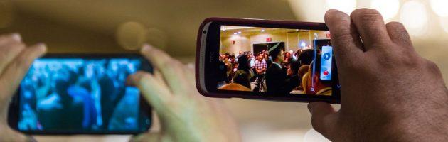 Réaliser et convertir la vidéo d'une fête