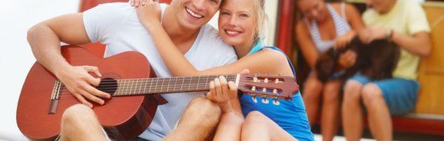 La guitare comme instrument de séduction
